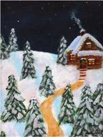 Christmas cottage