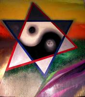 Merkaba of an auric rainbow.