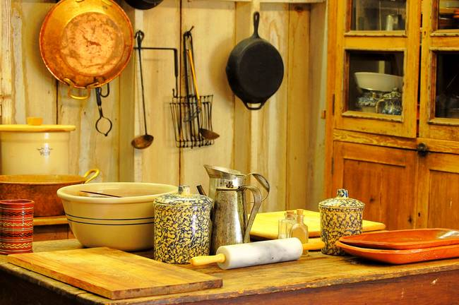 Old Country Kitchen By Hillery Young
