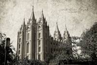 Salt Lake Temple vintage