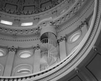 Texas Capital in black and white