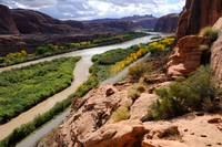 Colorado River and Moab Portal View