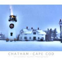 """Chatham, Cape Cod Holidays Poster"" by ChrisSeufert"