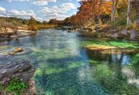 Emerald Pools of the Frio River