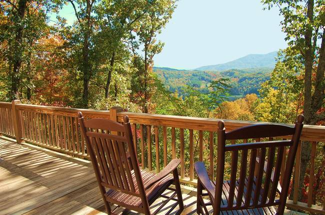 & Rocking Chair Vista by Mary Anne Baker