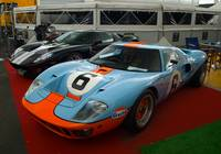 Ford GT40 old and new