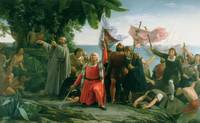 The First Landing of Christopher Columbus