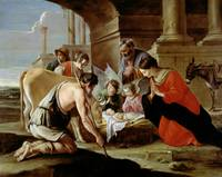 The Adoration of the Shepherds by Le Nain