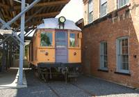 Trolley car in steamtown USA