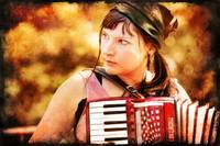 Gypsy Accordionist