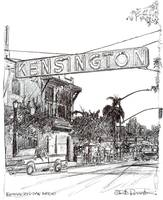 The Kensington Sign
