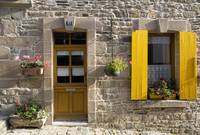 Yellow Shutters, Tréguier, Brittany