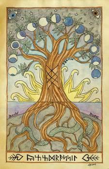 Yggdrasil The World Tree By Sarah Lawless