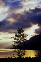 Sunset over Brienz