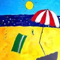 Sunny beach Art Prints & Posters by Joao Felix Braz