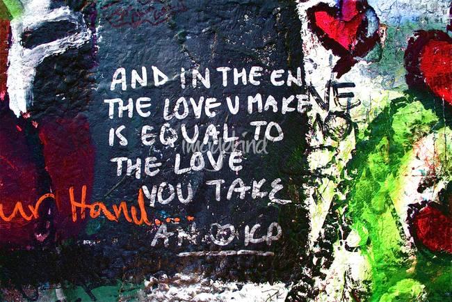 john lennon wall by MaryJo Abney