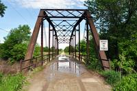 Steel bridge in Daviess County, Missouri
