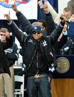 Jay-Z Celebrating the Yankees Championship