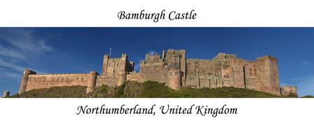 Bamburgh Castle Panoramic