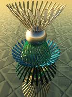 Virtual Glass Sculpture IX