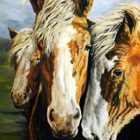 Three Amigos Art Prints & Posters by Jacqueline Kinsey