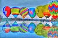 Hot Air Balloons @ Eden Park's Mirror Lake