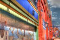 Mural and Store fronts