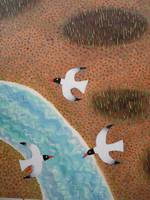 Seabirds Over Snowhill 1