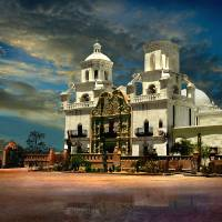 """San Xavier del Bac Mission"" by Ciro"