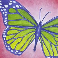 Sophia's Butterfly Art Prints & Posters by Brittany Hawkins