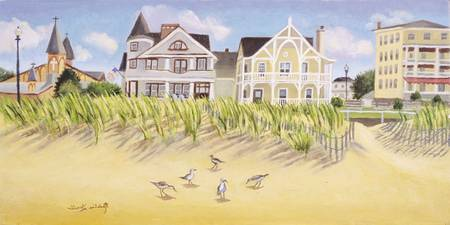 HOUSES ON BEACH, OCEAN GROVE