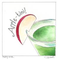 Day Forty nine - Happy Appletini!