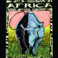 Africa_frame Art Prints & Posters by Jerome Matiyas