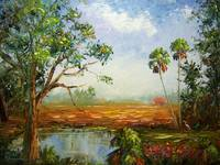 Florida Ranch Painting