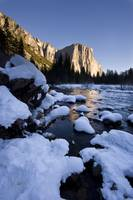 Valley View in Yosemite in Winter