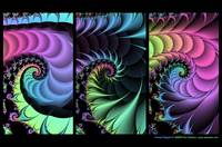 Fractal Triptych #1