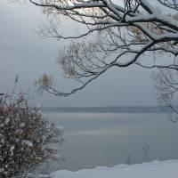 Winter on Seneca Lake Art Prints & Posters by FingerLakes