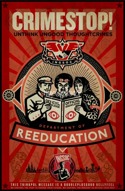 INGSOC 1984 Thoughtcrime