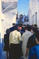 Easter Procession, Mykonos, Greece, 1960 by Priscilla Turner