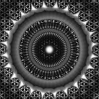 Sacred Art : Mandala Evolutions I : Gray I