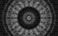 Sacred Art : Mandala Evolutions I : Gray X