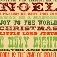 Christmas Word Collage (Religious) Art Prints & Posters by Ian Petty