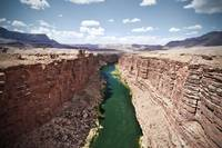 Marble Canyon from the Navajo Bridge