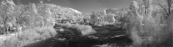 Infrared Panorama of American River
