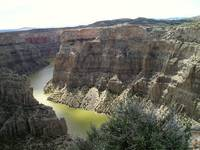 Bighorn Canyon in Wyoming
