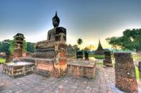Sukhothai Historical Park Sunset