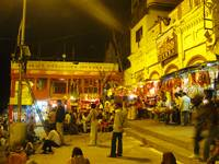 Ghats at Night