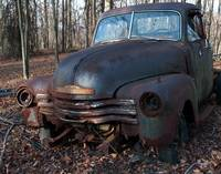 1948 Chevy Truck still hangin' in there