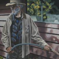 George in the Garden Art Prints & Posters by Christina Asdel Cisneros