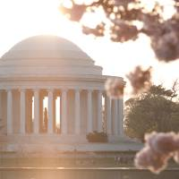 Jefferson Memorial Sunrise Art Prints & Posters by willei